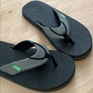 Boys Sanuk Flip Flops